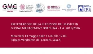 Presentazione GMC 13 maggio